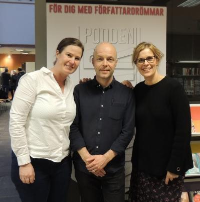 poddkalas 2019 SELFIE Sofie Berthet Johan Carle Kerstin Önnebo